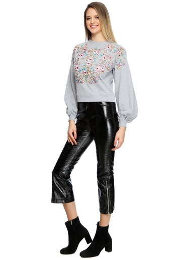 Missguided Sweatshirt Gri